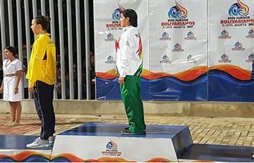 Juegos Bolivarianos: Así celebró Evo la medalla de oro conseguida por Torrez