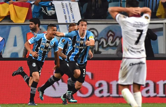 Libertadores: Gremio venció a Lanús en el primer duelo de la final