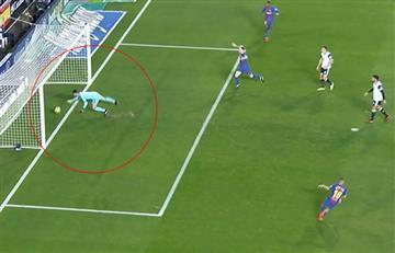 Lionel Messi y el gol 'fantasma' que perjudicó al Barcelona