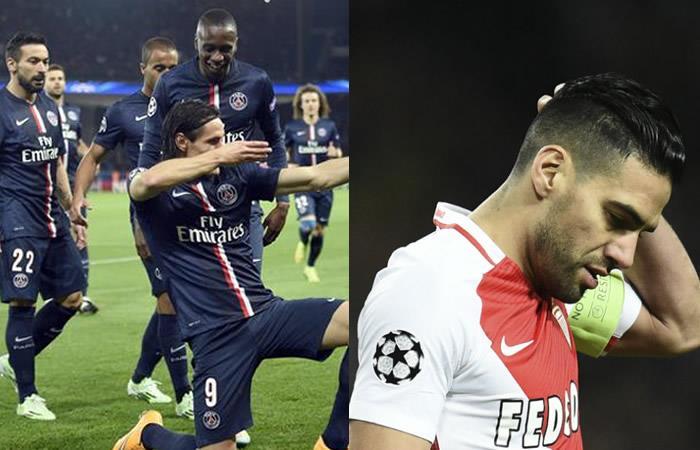PSG se impusó ante el Mónaco de Falcao como visitante