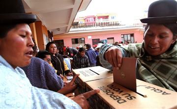 Elecciones judiciales: Bolivia le apuesta a la transformación de la justicia