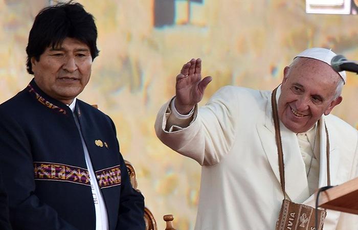 Evo Morales se reunirá con el papa Francisco en diciembre