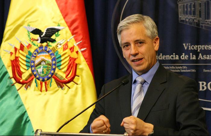 García Linera hace un llamado al cambio a través del voto