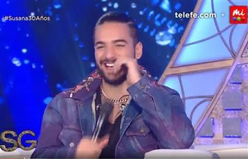En el show de Susana Giménez Maluma revela cuál es su mujer perfecta
