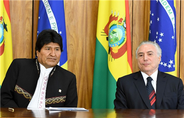 Evo Morales: Bolivianecesita de Brasil