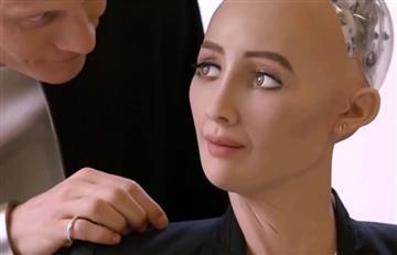 Sophia, la robot humanoide quiere ser mamá