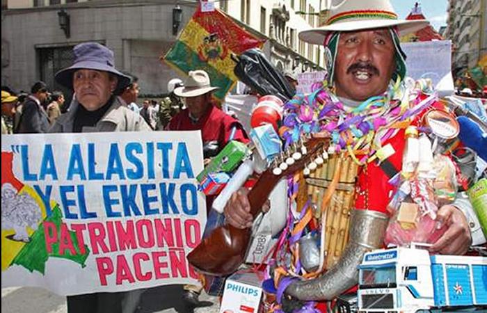 Feria de la Alasita es declarada 'Patrimonio Inmaterial de la Humanidad'