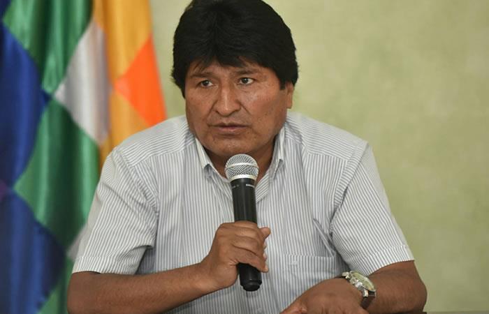 Evo Morales condena decisión unilateral de EE.UU. sobre Jerusalén