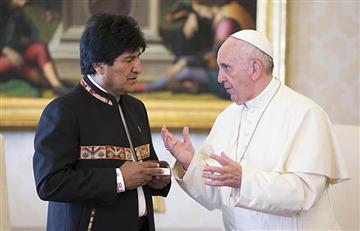 Morales viajará a Europa para cumbre sobre el clima y visitar al Papa