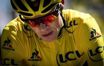 Chris Froome da positivo en la Vuelta a España