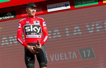 La Vuelta pide 'prudencia' tras conocer el positivo de Froome