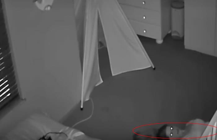 Paranormal: Madre 'poseída' causa terror en redes sociales