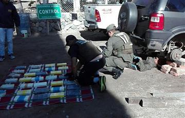Boliviano fue aprehendido en territorio argentino llevando droga