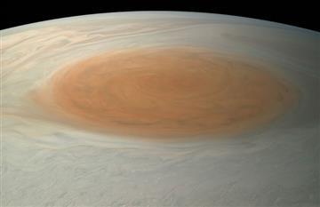 NASA: Revelan increíbles imágenes de la Gran Mancha Roja de Júpiter