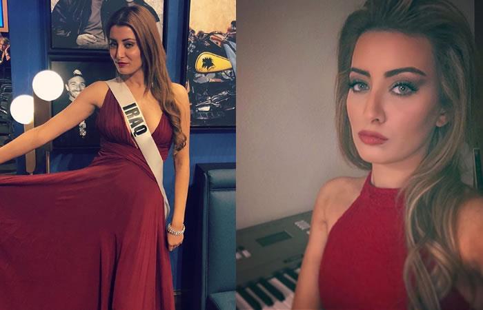 La fotografía por la que Miss Irak fue forzada a abandonar su país