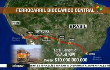 Consorcio suizo alemán acompañará la ejecución del tren bioceánico