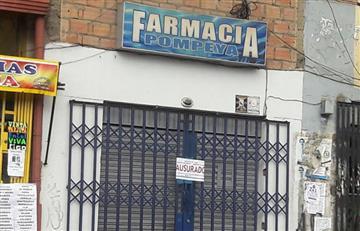 Inicia la clausura de farmacias que cerraron sus puertas en el país