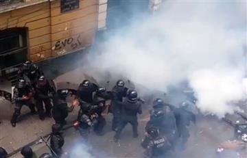 La Paz: Policía y médicos chocan y el conflicto aumenta
