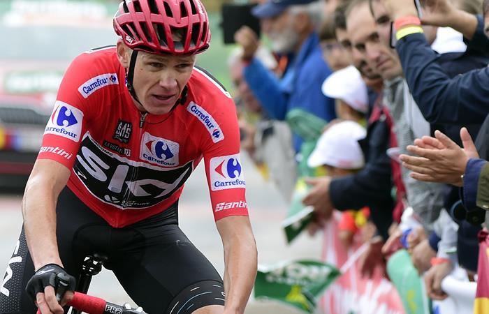 Chris Froome pasó de lo más alto del ciclismo a la duda