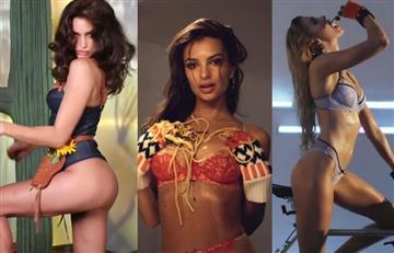Polémica y candente campaña con famosas modelos causa revuelo