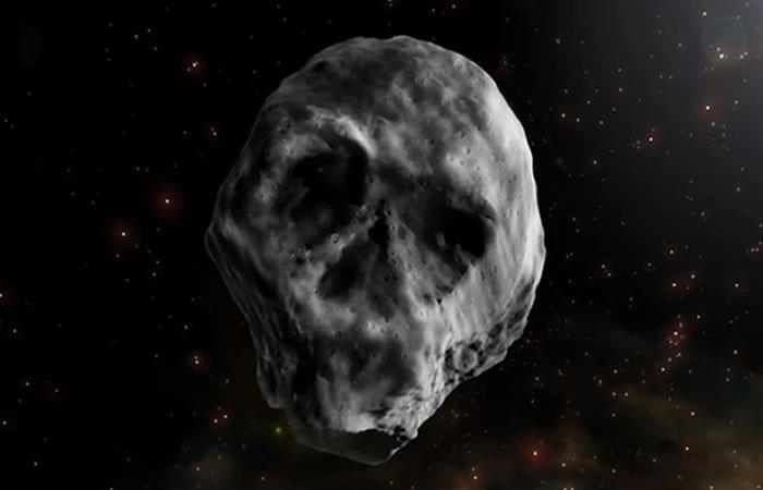 Astrónomos predicen encuentro del asteroide 'calavera' con la Tierra