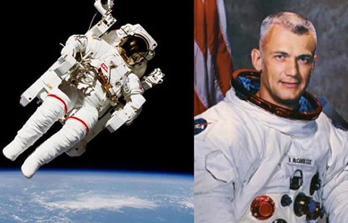 Muere el primer astronauta que flotó libremente en el espacio