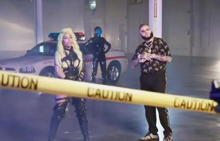 Farruko, Nicki Minaj, Bad Bunny y novio de Kylie Jenner causan revuelo en video