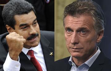 Nicolás Maduro y las fuertes palabras hacia Mauricio Macri