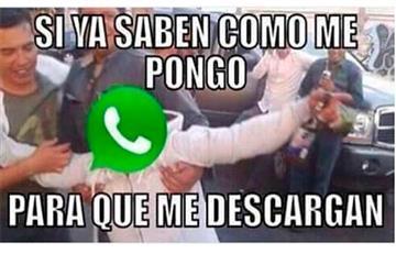 Fin de año con Whatsapp caído, así reacciona el mundo entero