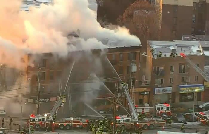 Otro incendio en Nueva York deja varios heridos