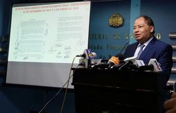 Gobierno denuncia que paro médico oculta una movilización política conspirativa