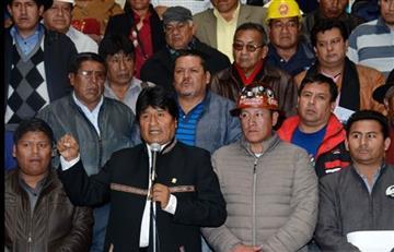 Evo Morales cede y decide derogar el artículo 205 del Código Penal