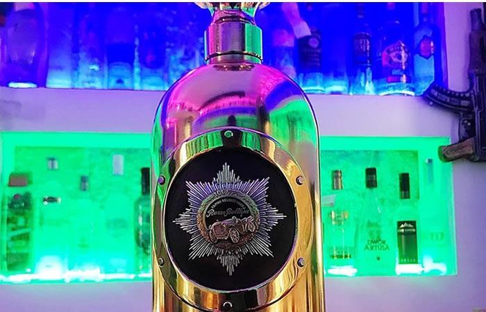 Robada la botella de vodka más cara del mundo
