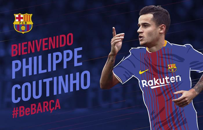 Barcelona finalmente fichó a Coutinho
