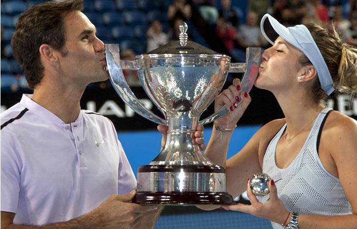 Federer lleva a Suiza a ganar la Copa Hopman