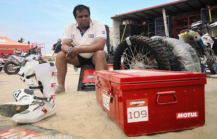 Boliviano Danny Nogales abandonó la competencia del Rally Dakar