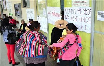 Cochabamba: Médicos no restablecen atención y rechazan el acuerdo