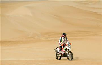 Fabricio Fuentes, el segundo boliviano en abandonar el Dakar