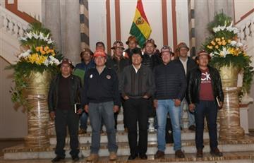 Gobierno y FSTMB aprueban proyectos para potenciar la minería