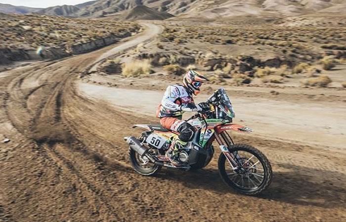 Dakar 2018: Daniel Nosiglia, el mejor boliviano en motos