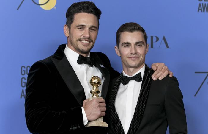 Luego de la gala del Globo de Oro, James Franco es denunciado por acoso sexual