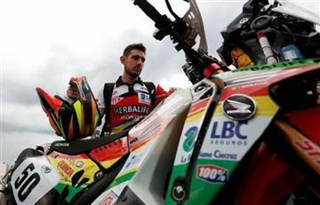 Wálter Nosiglia junior sufrió una fractura y no estará más en el Dakar
