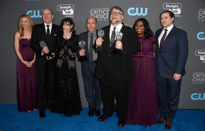 Critics' Choice Awards 2018: Los triunfadores de las principales categorías