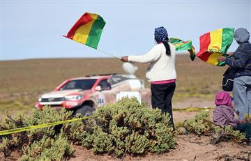 """Rally Dakar: """"La joya bella de Bolivia"""" espera con euforia la octava etapa"""