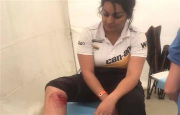 Suany Martínez, la única mujer boliviana abandona el Dakar 2018