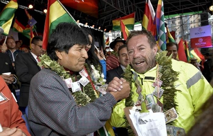 Evo lamenta abandono de Walter Nosiglia y agradece su sacrificio por Bolivia