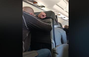 Video: Angustiante momento vivieron pasajeros tras emergencia en vuelo
