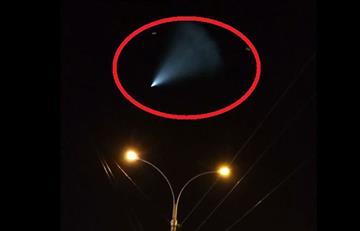 El video de un OVNI en Rusia que aterroriza a todo el mundo