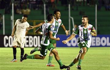 Oriente Petrolero pegó primero y ganó a Universitario en Libertadores