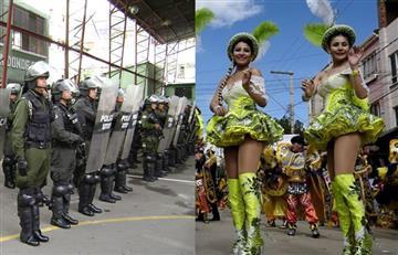 Carnaval de Oruro tendrá más de 6.000 policías dando seguridad
